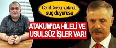 Atakum Belediye Başkanı Cemil Deveci hakkında suç duyurusu