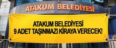 Atakum Belediyesi 9 adet taşınmazı kiraya verecek!