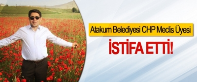 Atakum Belediyesi CHP meclis üyesi İstifa Etti!