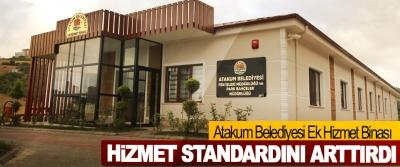 Atakum Belediyesi Ek Hizmet Binası Hizmet Standardını Arttırdı