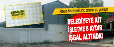 Atakum Belediyesi Kamu Zararına Göz Yumuyor