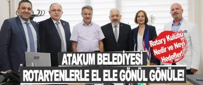 Atakum Belediyesi Rotaryenlerle El Ele Gönül Gönüle!