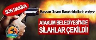 Atakum Belediyesi'nde silahlar çekildi!, Başkan Deveci Karakolda ifade veriyor
