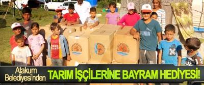 Atakum Belediyesi'nden Tarım İşçilerine Bayram Hediyesi!