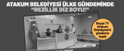 Atakum Belediyesi'nde Rezillikte Diz Boyu!