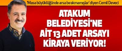Atakum Belediyesi'ne Ait 13 Adet Arsayı Kiraya Veriyor!