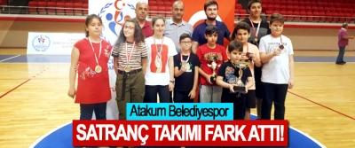 Atakum Belediyespor Satranç Takımı Fark Attı!