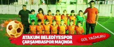 Atakum Belediyespor Çarşambaspor Maçında Gol Yağmuru..