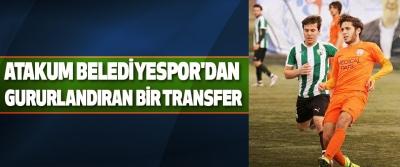 Atakum Belediyespor'dan Gururlandıran Bir Transfer