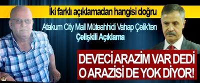 Atakum City Mall Müteahhidi Vahap Çelik'ten Çelişkili Açıklama