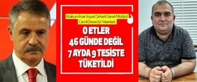 Atakum İmar İnşaat Şirketi Genel Müdürü Cemil Deveci'yi Yalanladı