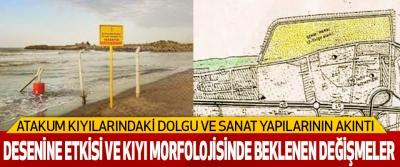 Atakum Kıyılarındaki Dolgu Ve Sanat Yapılarının Akıntı Desenine Etkisi Ve Kıyı Morfolojisinde Beklenen Değişmeler