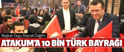 Atakum'a 10 Bin Türk Bayrağı