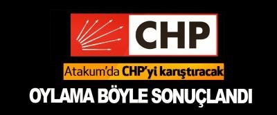 Atakum'da CHP'yi karıştıracak Oylama Böyle Sonuçlandı