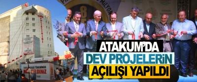 Atakum'da Dev Projelerin Açılışı Yapıldı