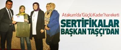 Atakum'da 'Güçlü Kadın' hareketi
