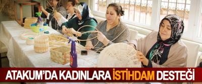 Atakum'da Kadınlara 'İstihdam' Desteği