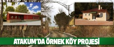 Atakum'da Örnek Köy Projesi