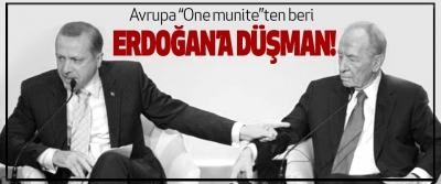 """Avrupa """"One munite""""ten beri Erdoğan'a Düşman!"""