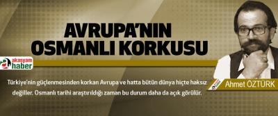 Avrupa'nın Osmanlı Korkusu