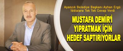 Ayancık Belediye Başkanı Ayhan Ergün: Mustafa Demir'i Yıpratmak İçin Hedef Saptırıyorlar
