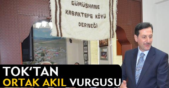 Erdoğan Tok, Gümüşhanelilerle bayramlaştı.