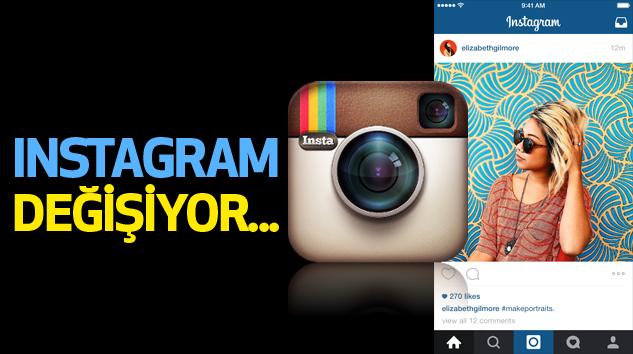 Instagram Tamamen Değişiyor...