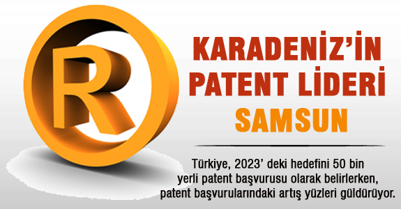 Karadeniz'in Patent Lideri Samsun