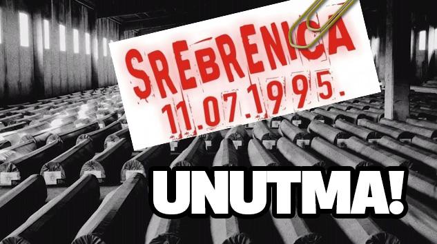 21. Yılında Srebrenitsa Katliamını Unutma!