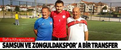 Bafra Altyapısı'ndan Samsun Ve Zonguldakspor' a Bir Transfer