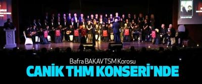 Bafra BAKAV TSM Korosu Canik Thm Konseri'nde