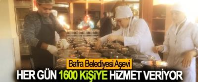 Bafra Belediyesi Aşevi Her Gün 1600 Kişiye Hizmet Veriyor