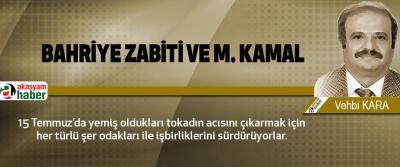 Bahriye zabiti ve m. Kamal