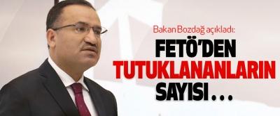Bakan Bozdağ'dan 'FETÖ' açıklaması
