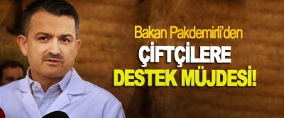 Bakan Pakdemirli'den Çiftçilere destek müjdesi!