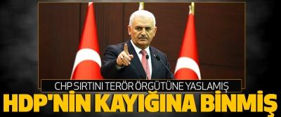 Başbakan Yıldırım'dan CHP'ye eleştiri