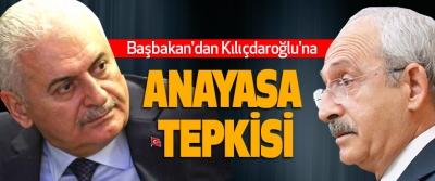 Başbakan'dan Kılıçdaroğlu'na Anayasa Tepkisi