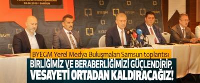 Basın Yayın ve Enformasyon Genel Müdürlüğü Yerel Medya Buluşmaları Samsun'da yapıldı.