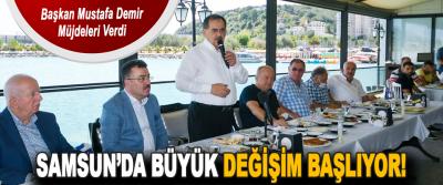 Başkan Mustafa Demir Müjdeleri Verdi