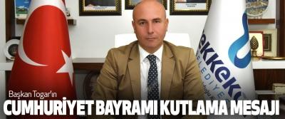Başkan Togar'ın Cumhuriyet Bayramı Kutlama Mesajı