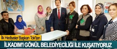 Başkan Tok: İlkadım'ı Gönül Belediyeciliği İle Kuşatıyoruz