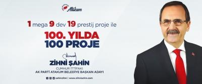 Başkan Zihni Şahin'den 100. Yılda 100 Proje