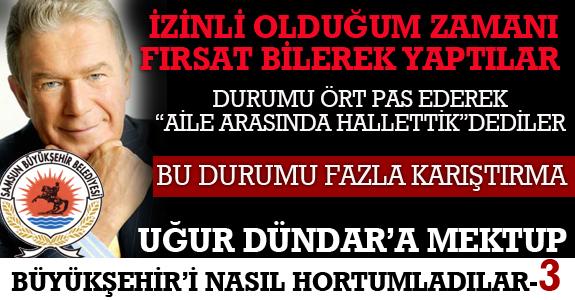 """DURUMU ÖRT PAS EDEREK """"AİLE ARASINDA HALLETTİK""""DEDİLER"""