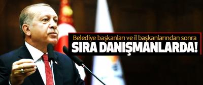 Belediye başkanları ve il başkanlarından sonra Sıra danışmanlarda!