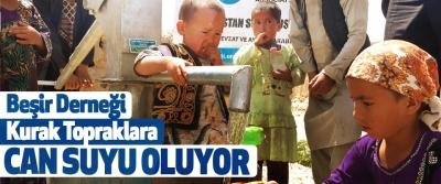 Beşir Derneği Kurak Topraklara Can Suyu Oluyor