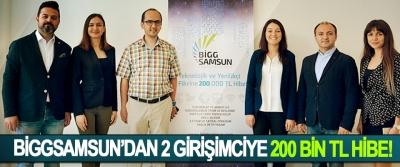 BiggSamsun'dan 2 girişimciye 200 bin tl hibe!