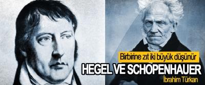 Birbirine zıt iki büyük düşünür  Hegel Ve Schopenhauer