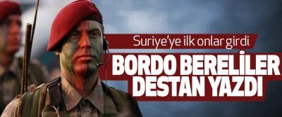 Bordo Bereliler Destan Yazdı