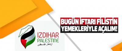 Bugün İftarı Filistin Yemekleriyle Açalım!