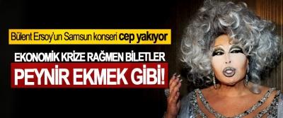 Bülent Ersoy'un Samsun konseri cep yakıyor